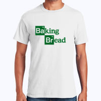 Baking Bread - Heavy Cotton 100% Cotton T Shirt Thumbnail