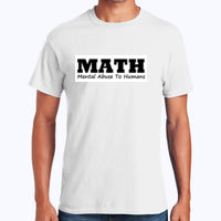 Math  - Heavy Cotton 100% Cotton T Shirt Thumbnail