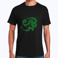 Celtic Dragon  - Heavy Cotton 100% Cotton T Shirt Thumbnail