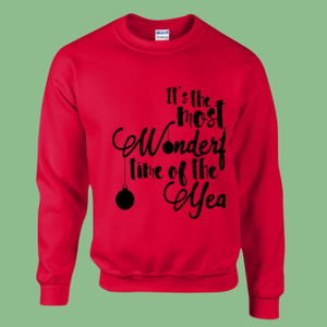 The Most Wonderful - Heavy blend™ adult crew neck sweatshirt Thumbnail
