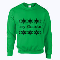 Merry Christmas - Heavy blend™ adult crew neck sweatshirt Thumbnail