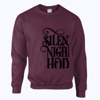 Silent Night Silver - Heavy blend™ adult crew neck sweatshirt Thumbnail