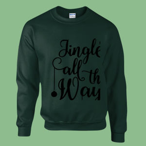 Jingle all the way - Heavy blend™ adult crew neck sweatshirt Thumbnail