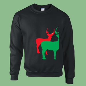 Merry Xmas  - Heavy blend™ adult crew neck sweatshirt Thumbnail