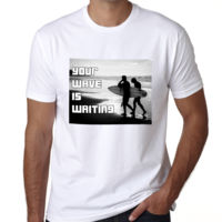 Your Wave Is Waiting - Heavy Cotton 100% Cotton T Shirt Thumbnail