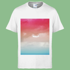 Plane Sunset - Heavy Cotton™ Youth T-shirt Thumbnail