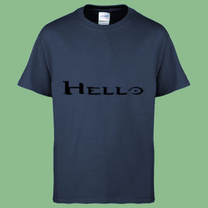 Hello - Heavy Cotton™ Youth T-shirt Thumbnail