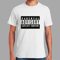 Parental Advisory  - Heavy Cotton 100% Cotton T Shirt Thumbnail