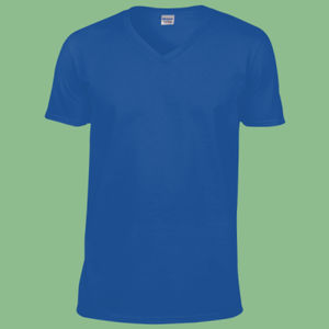 I Heart Surfing - Softstyle™ v-neck t-shirt Thumbnail