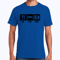 Eat, Sleep, Shoot - Heavy Cotton 100% Cotton T Shirt Thumbnail
