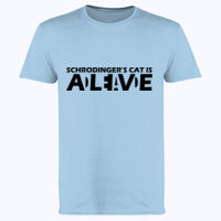 Schrodinger's Cat - Softstyle™ adult ringspun t-shirt Thumbnail