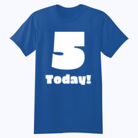 Customizable Childs Birthday T-shirt - Softstyle™ youth ringspun t-shirt Thumbnail