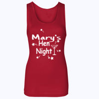 Customisable Hen Night T-shirt - Softstyle™ women's tank top Thumbnail
