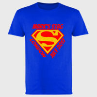 Customisable Super Stag - Softstyle™ adult ringspun t-shirt Thumbnail