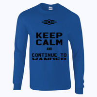 Keep Calm and Continue to Wander - Ultra Cotton™ adult long sleeve t-shirt Thumbnail