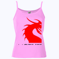 Mother Of Dragons - Lady-fit strap tee Thumbnail