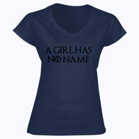 A Girl Has No Name - Softstyle™ women's v-neck t-shirt Thumbnail