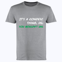It's a Condescending Thing - Softstyle™ adult ringspun t-shirt Thumbnail
