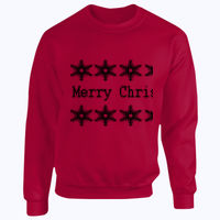 Merry Christmas - Heavy Blend™ youth crew neck sweatshirt Thumbnail