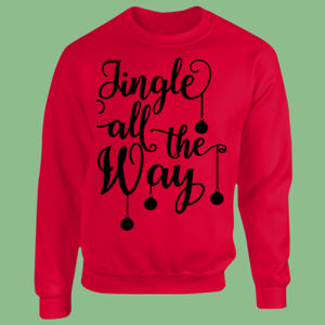 Jingle all the way - Heavy Blend™ youth crew neck sweatshirt Thumbnail