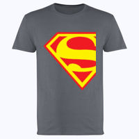 Superman Inspired Design - Softstyle™ adult ringspun t-shirt Thumbnail