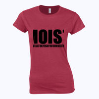 Moist - Softstyle™ women's ringspun t-shirt Thumbnail