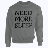 NEED MORE SLEEP - Heavy Blend™ youth crew neck sweatshirt Thumbnail