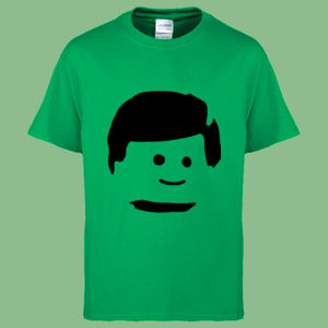 Lego Man Head - Heavy Cotton™ Youth T-shirt Thumbnail