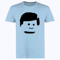Lego Man Head - Softstyle™ adult ringspun t-shirt Thumbnail