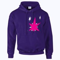My Little Pony Twilight Sparkle Cutie Mark - HeavyBlend™ adult hooded sweatshirt Thumbnail