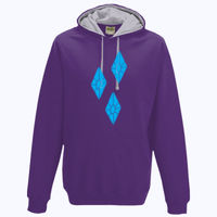 My Little Pony Rarity Cutie Mark - Varsity Hoodie Thumbnail