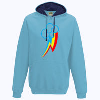 My Little Pony Rainbow Dash Cutie Mark - Varsity Hoodie Thumbnail