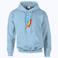 My Little Pony Rainbow Dash Cutie Mark - HeavyBlend™ adult hooded sweatshirt Thumbnail