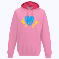 My Little Pony Princess Cadence Cutie Mark - Varsity Hoodie Thumbnail