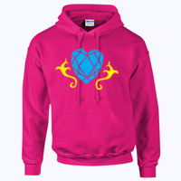 My Little Pony Princess Cadence Cutie Mark - HeavyBlend™ adult hooded sweatshirt Thumbnail