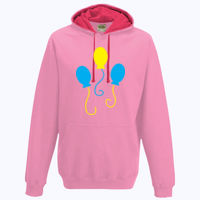 My Little Pony Pinkie Pie Cutie Mark - Varsity Hoodie Thumbnail