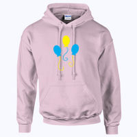 My Little Pony Pinkie Pie Cutie Mark - HeavyBlend™ adult hooded sweatshirt Thumbnail