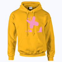 My Little Pony Shutterfly Cutie Mark - HeavyBlend™ adult hooded sweatshirt Thumbnail