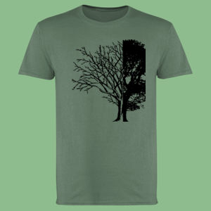 Life and Death - Softstyle™ adult ringspun t-shirt Thumbnail