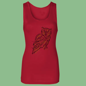 Electric Owl - Softstyle™ women's tank top Thumbnail