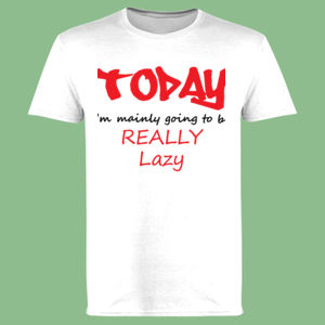 Lazy Day - Softstyle™ adult ringspun t-shirt Thumbnail