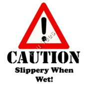 Caution Slippery when wet  Thumbnail