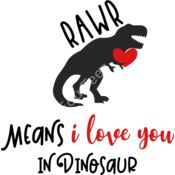 Rawr means I love you in dinosaur Thumbnail